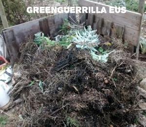 montón de compost