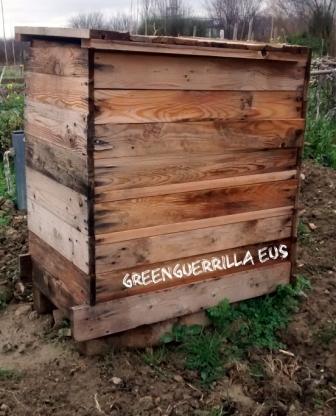 compost en cajón